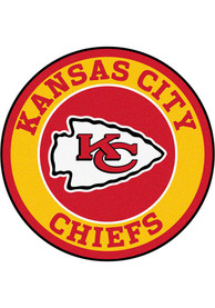 KC Chiefs 26 Roundel Interior Rug