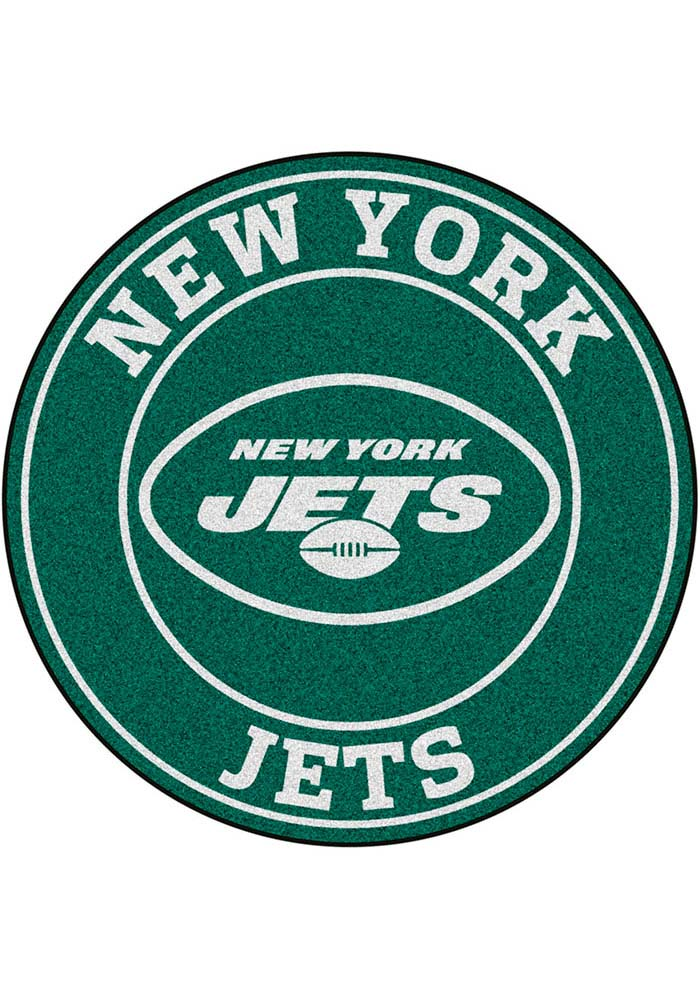 New York Jets 26g Roundel Interior Rug - Image 1