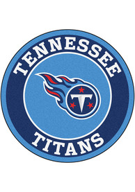 Tennessee Titans 26 Roundel Interior Rug