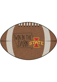 Iowa State Cyclones Southern Style 20x32 Football Interior Rug