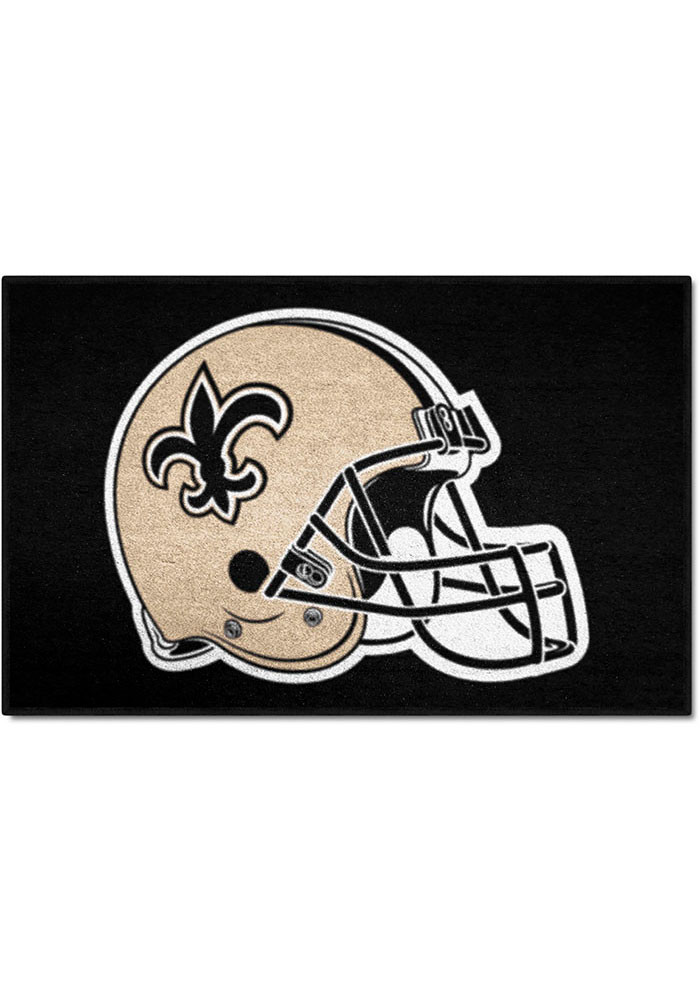 New Orleans Saints 19x30 Starter Interior Rug - Image 1