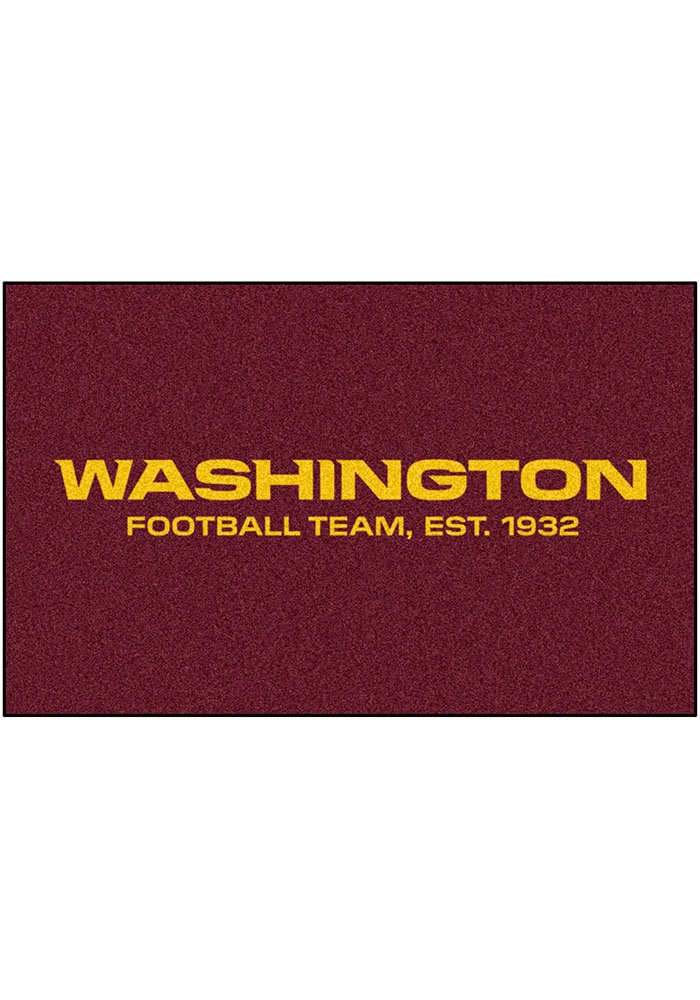 Washington Redskins 60x96 Ultimat BBQ Grill Mat - Image 1