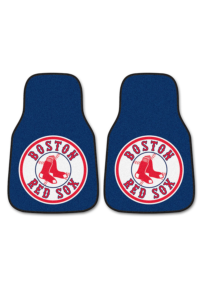 Sports Licensing Solutions Boston Red Sox 2 pc Car Mat Car Mat - Navy Blue - Image 2