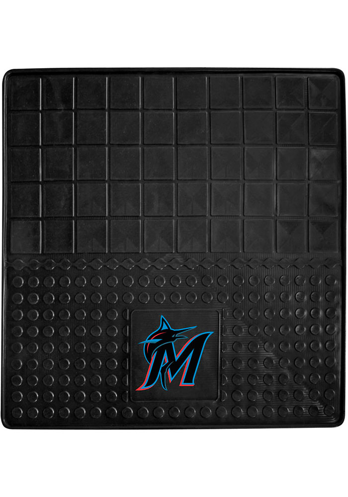 Sports Licensing Solutions Miami Marlins 31x31 Cargo Mat Car Mat - Black - Image 1