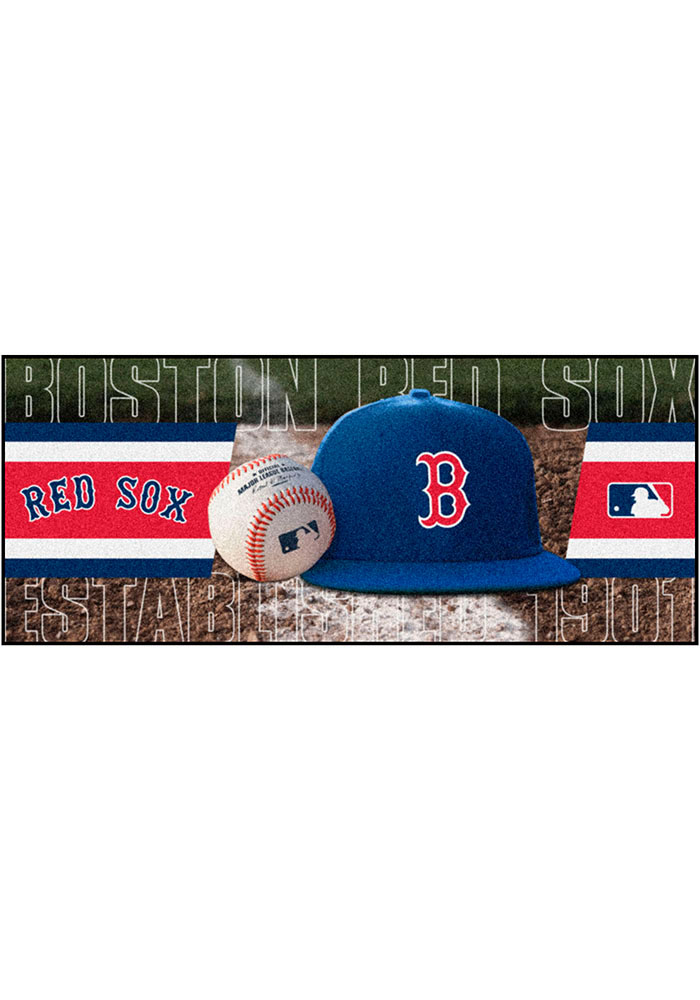 Boston Red Sox 30x72 Runner Interior Rug - Image 1