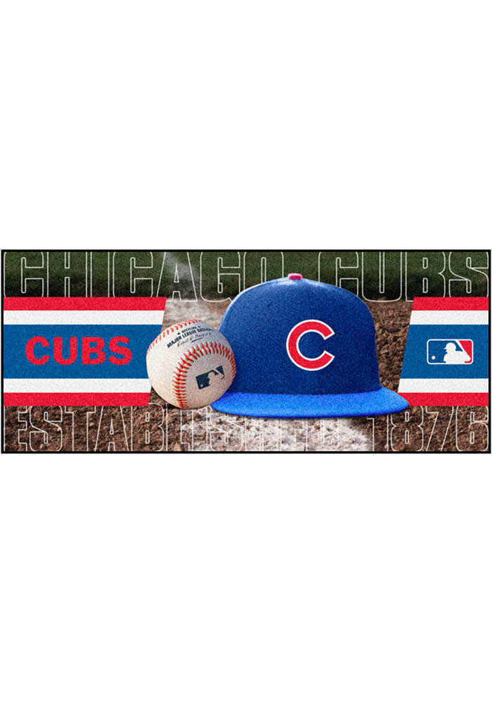 Chicago Cubs 30x72 Runner Interior Rug - Image 1