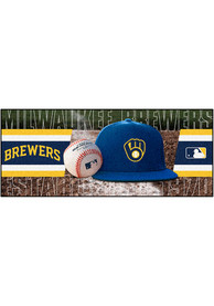 Milwaukee Brewers 30x72 Runner Interior Rug