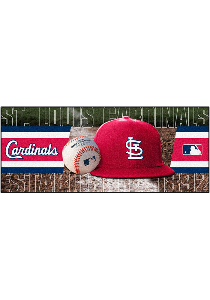 St Louis Cardinals 30x72 Runner Interior Rug - Image 1