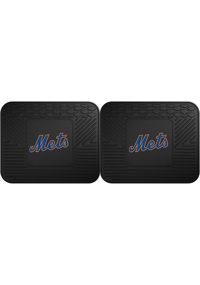 Sports Licensing Solutions New York Mets 14x17 Utility Mats Car Mat - Black - Image 1