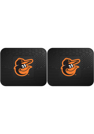 Sports Licensing Solutions Baltimore Orioles 14x17 Utility Mats Car Mat - Black