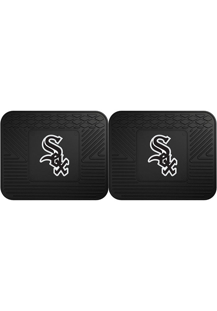 Sports Licensing Solutions Chicago White Sox 14x17 Utility Mats Car Mat - Black - Image 1