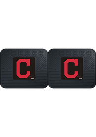 Sports Licensing Solutions Cleveland Indians 14x17 Utility Mats Car Mat - Black