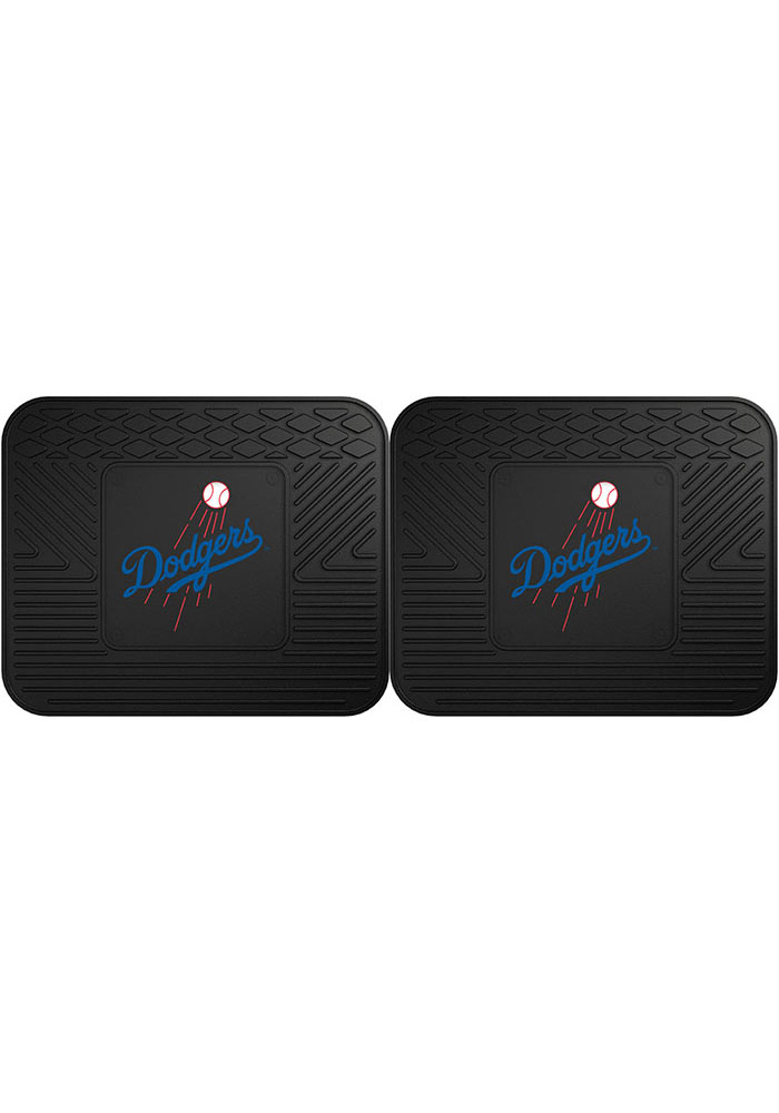 Sports Licensing Solutions Los Angeles Dodgers 14x17 Utility Mats Car Mat - Black - Image 1