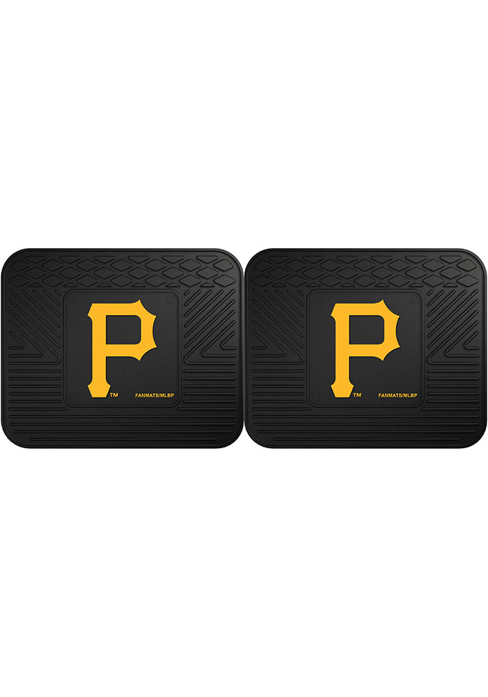 Sports Licensing Solutions Pittsburgh Pirates 14x17 Utility Mats Car Mat - Black - Image 1
