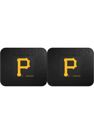 Sports Licensing Solutions Pittsburgh Pirates 14x17 Utility Mats Car Mat - Black