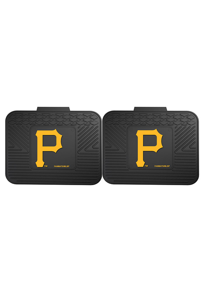 Sports Licensing Solutions Pittsburgh Pirates 14x17 Utility Mats Car Mat - Black - Image 2