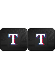 Sports Licensing Solutions Texas Rangers 14x17 Utility Mats Car Mat - Black