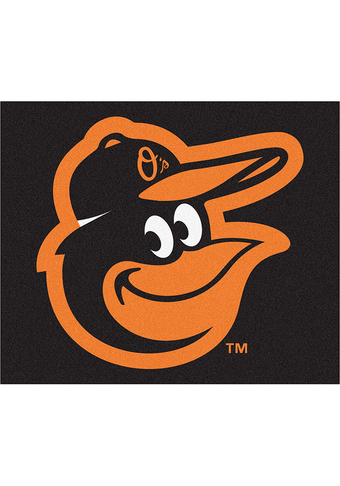 Baltimore Orioles 60x72 Tailgater BBQ Grill Mat - Image 1