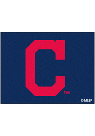 Cleveland Indians 34x45 All Star Interior Rug