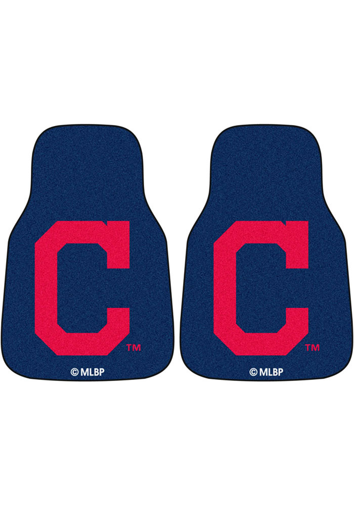 Sports Licensing Solutions Cleveland Indians 2pc Car Mat Car Mat - Image 1