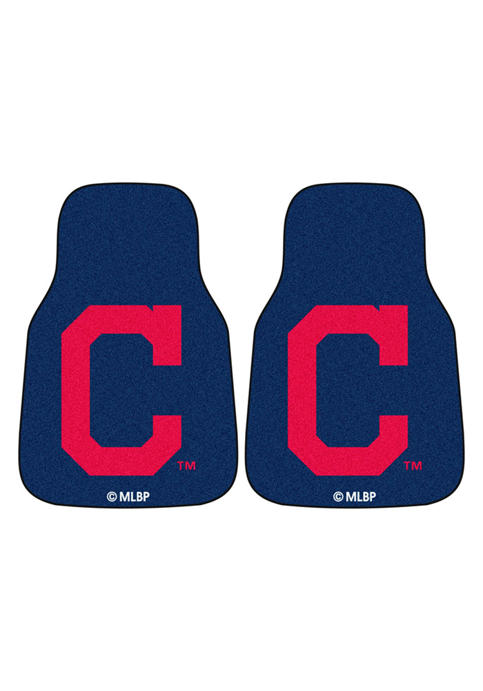 Sports Licensing Solutions Cleveland Indians 2pc Car Mat Car Mat - Image 2