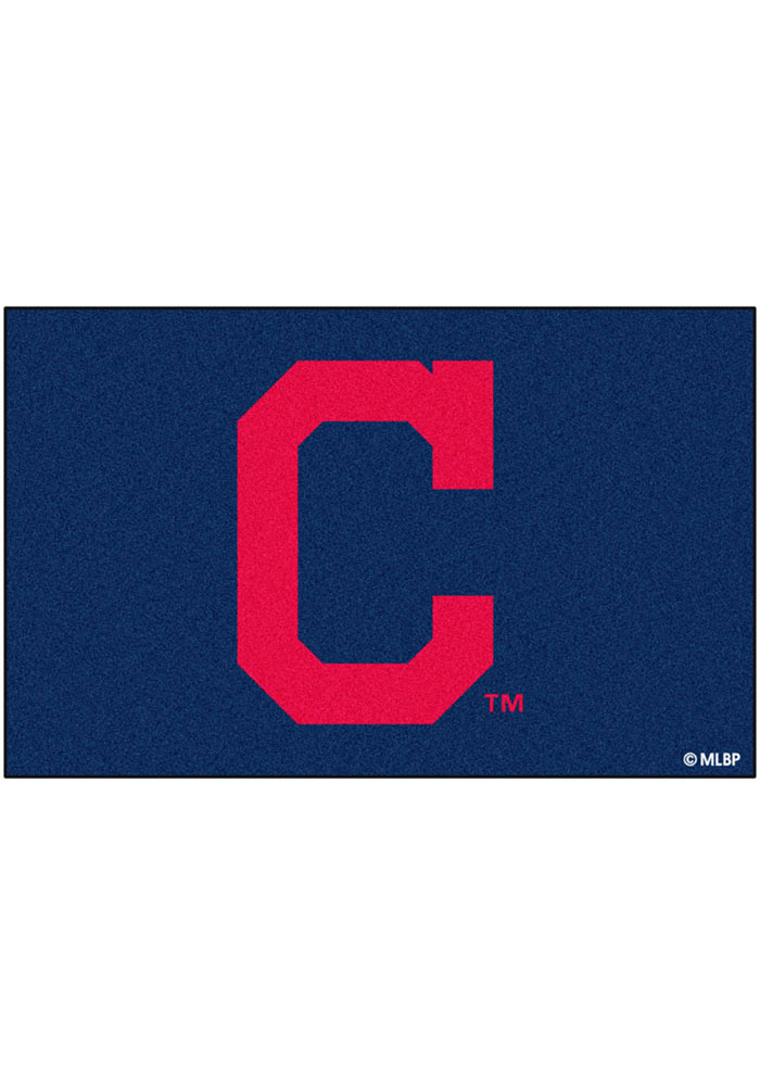 Cleveland Indians 60x96 Ultimat BBQ Grill Mat - Image 1