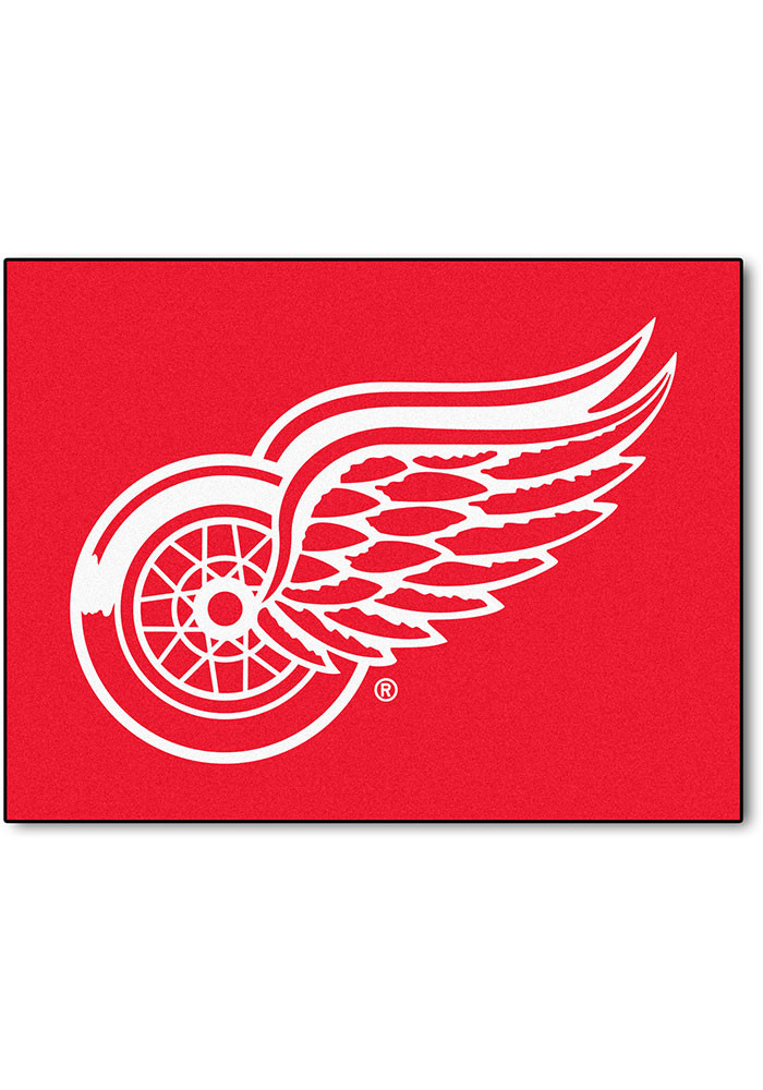 Detroit Red Wings 34x45 All Star Interior Rug - Image 1
