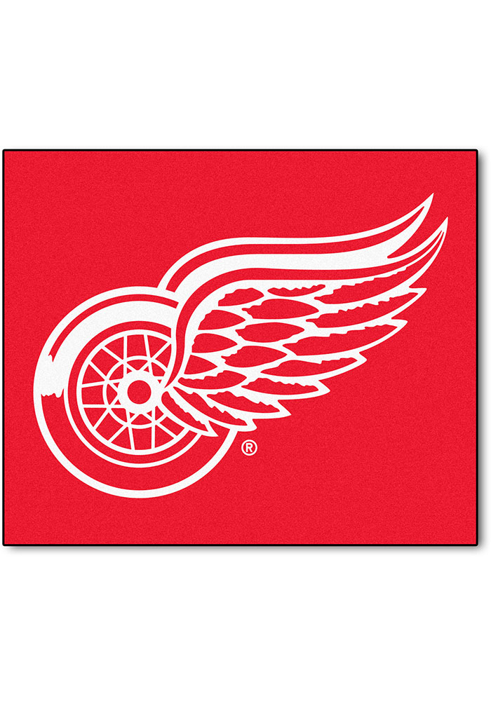 Detroit Red Wings 60x72 Tailgater BBQ Grill Mat - Image 1