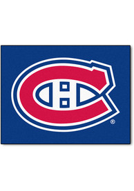 Montreal Canadiens 34x45 All Star Interior Rug