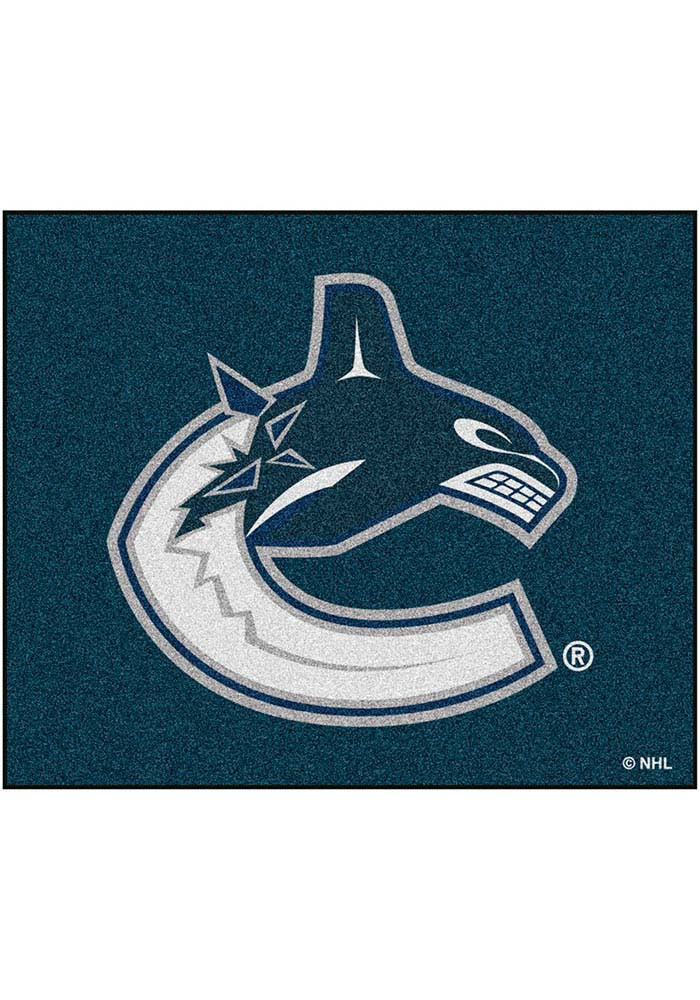 Vancouver Canucks 60x72 Tailgater BBQ Grill Mat - Image 1