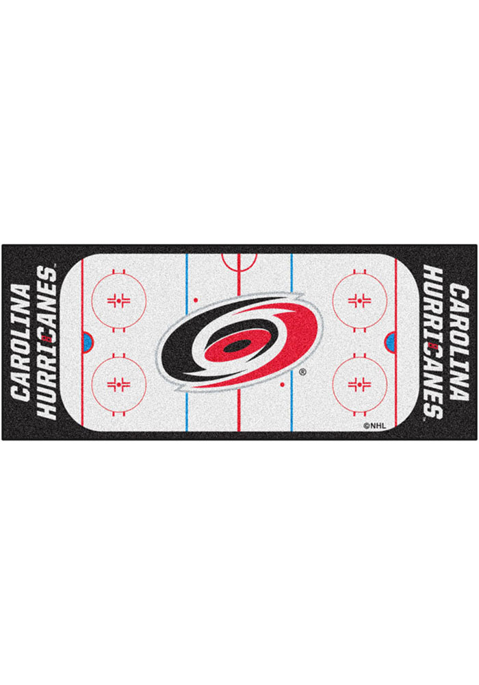 Carolina Hurricanes 30x72 Runner Interior Rug - Image 1