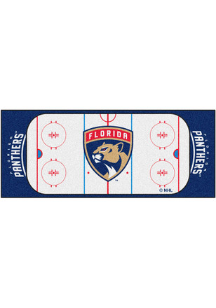 Florida Panthers 30x72 Runner Interior Rug