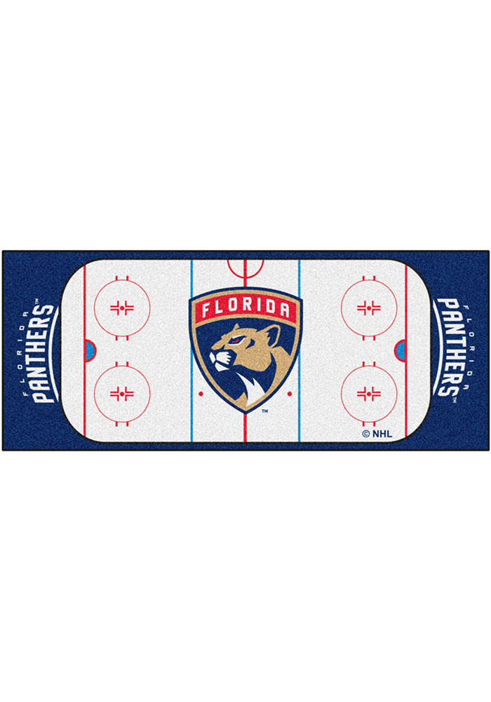Florida Panthers 30x72 Runner Interior Rug - Image 1
