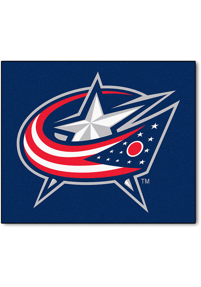 Columbus Blue Jackets 60x72 Tailgater BBQ Grill Mat - Image 1