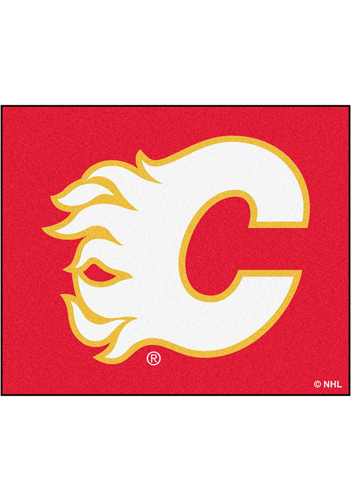 Calgary Flames 60x72 Tailgater BBQ Grill Mat - Image 1