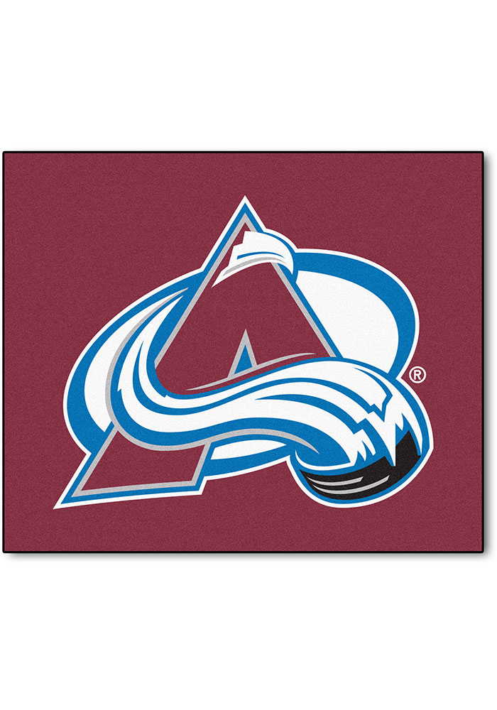 Colorado Avalanche 60x72 Tailgater BBQ Grill Mat - Image 1