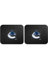 Sports Licensing Solutions Vancouver Canucks Backseat Utility mats Car Mat - Black