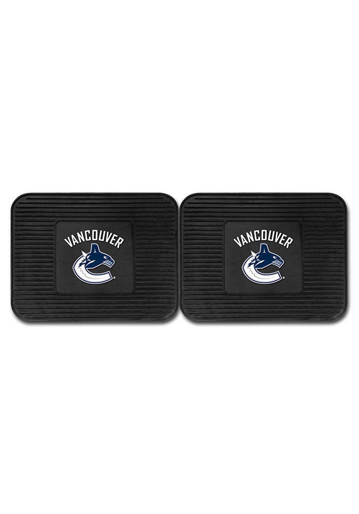Sports Licensing Solutions Vancouver Canucks Backseat Utility mats Car Mat - Black - Image 2