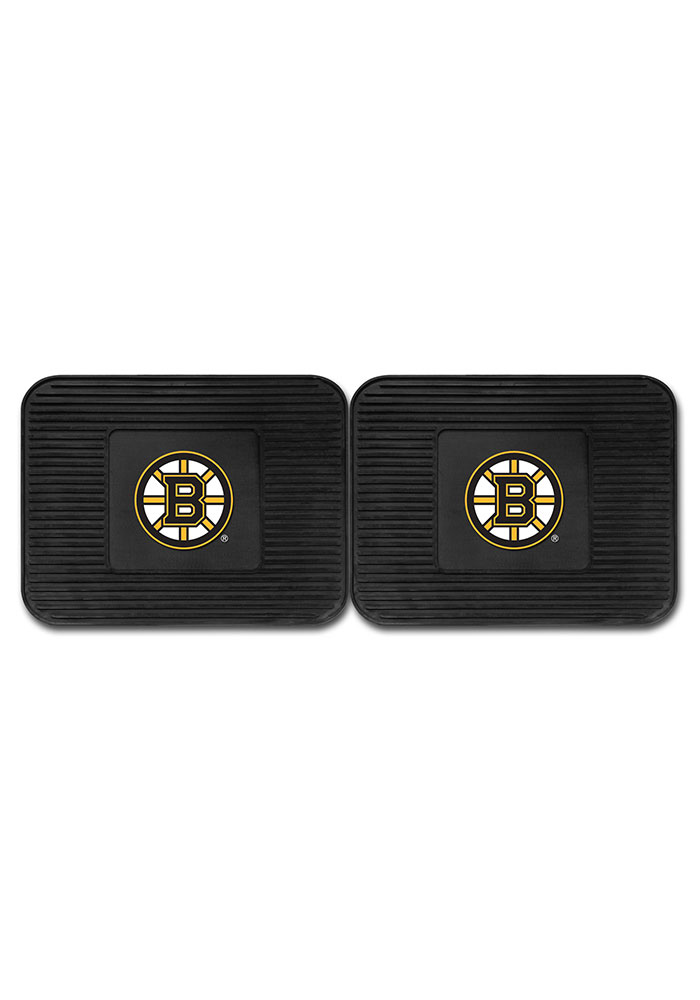 Sports Licensing Solutions Boston Bruins Backseat Utility mats Car Mat - Black - Image 2