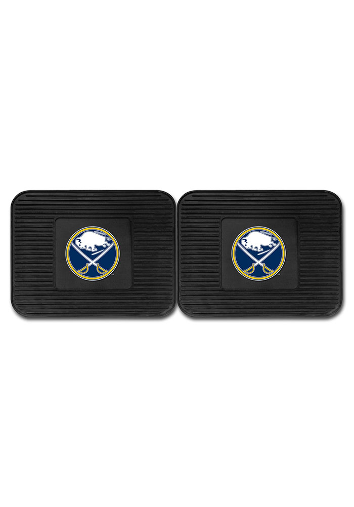 Sports Licensing Solutions Buffalo Sabres Backseat Utility mats Car Mat - Black - Image 2