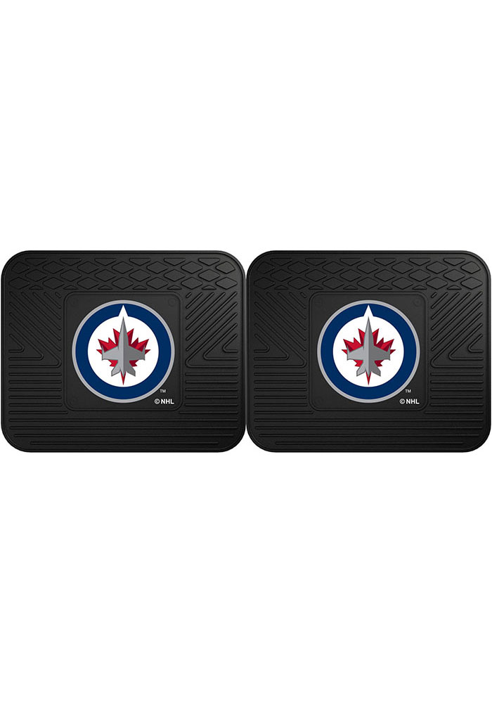 Winnipeg Jets Backseat Utility mats Car Mat - Image 1