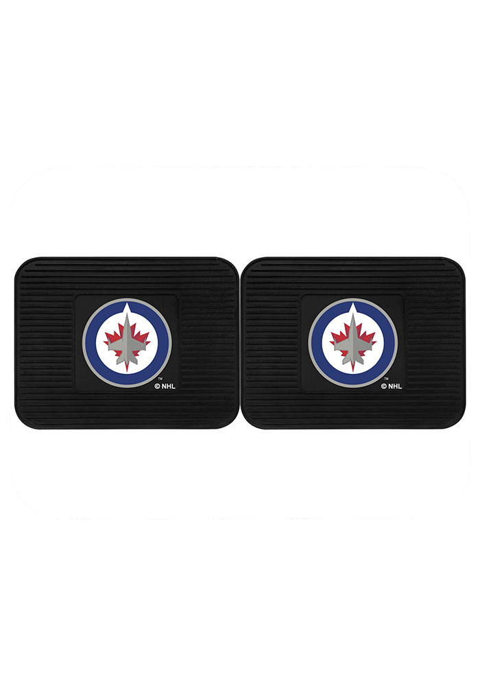 Winnipeg Jets Backseat Utility mats Car Mat - Image 2