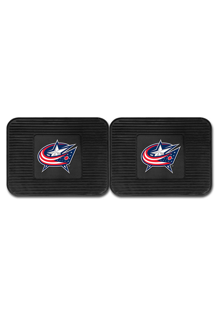 Sports Licensing Solutions Columbus Blue Jackets Backseat Utility mats Car Mat - Black - Image 2