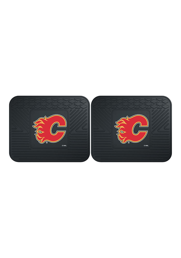 Calgary Flames Backseat Utility mats Car Mat - Image 2