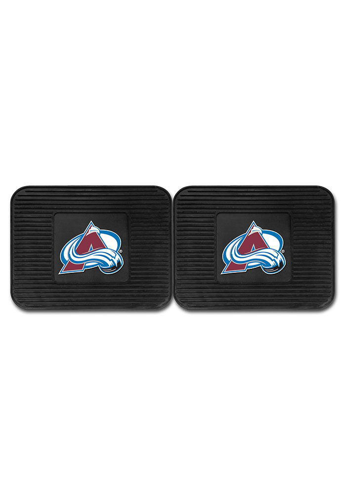 Sports Licensing Solutions Colorado Avalanche Backseat Utility mats Car Mat - Black - Image 2