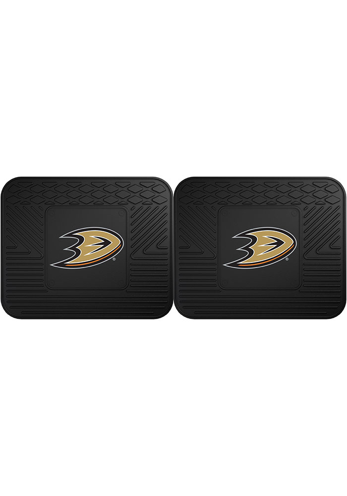 Sports Licensing Solutions Anaheim Ducks Backseat Utility mats Car Mat - Black - Image 1