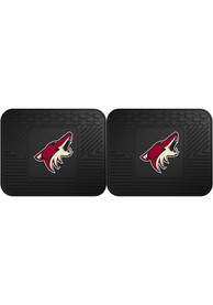 Sports Licensing Solutions Arizona Coyotes Backseat Utility mats Car Mat - Black