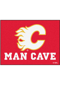Calgary Flames 34x45 All Star Interior Rug