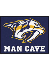 Nashville Preds 34x45 All Star Interior Rug
