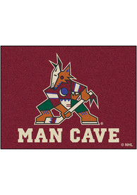 Arizona Coyotes 34x45 All Star Interior Rug